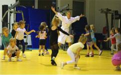 Дворец водных видов спорта - Тренировки в зале
