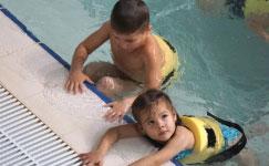 Дворец водных видов спорта - Первые шаги в плавание