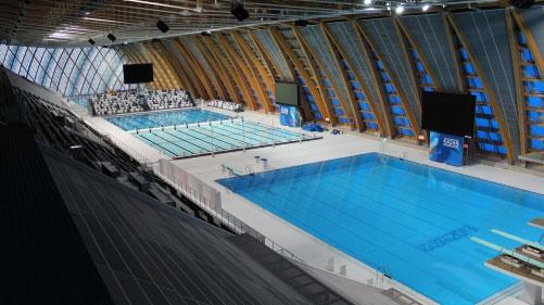 Дворец водных видов спорта - спортивное сооружение мирового уровня