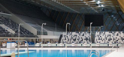 Дворец водных видов спорта - Бассейн