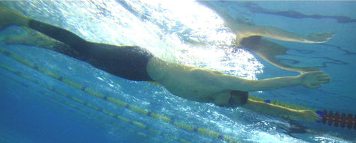 Дворец водных видов спорта - Подводное плавание