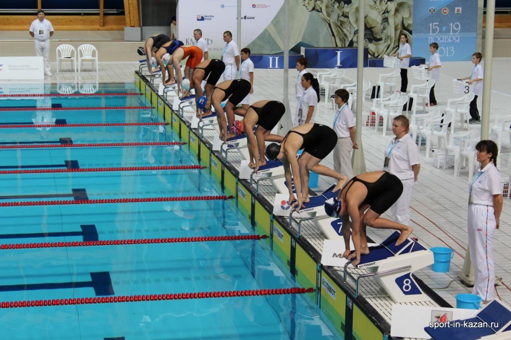 Чемпионат России на короткой воде