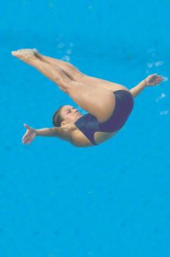 Дворец водных видов спорта - Прыжки в воду