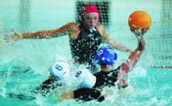 Дворец водных видов спорта - Занятия по водному поло