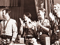 На фото слева направо: Владимир Житлов, Наиля Гилязова, Ольга Князева и Валентина Никонова