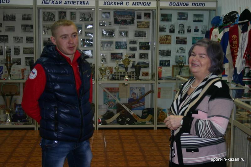 Миннегулов Рушан в Музее спорта РТ
