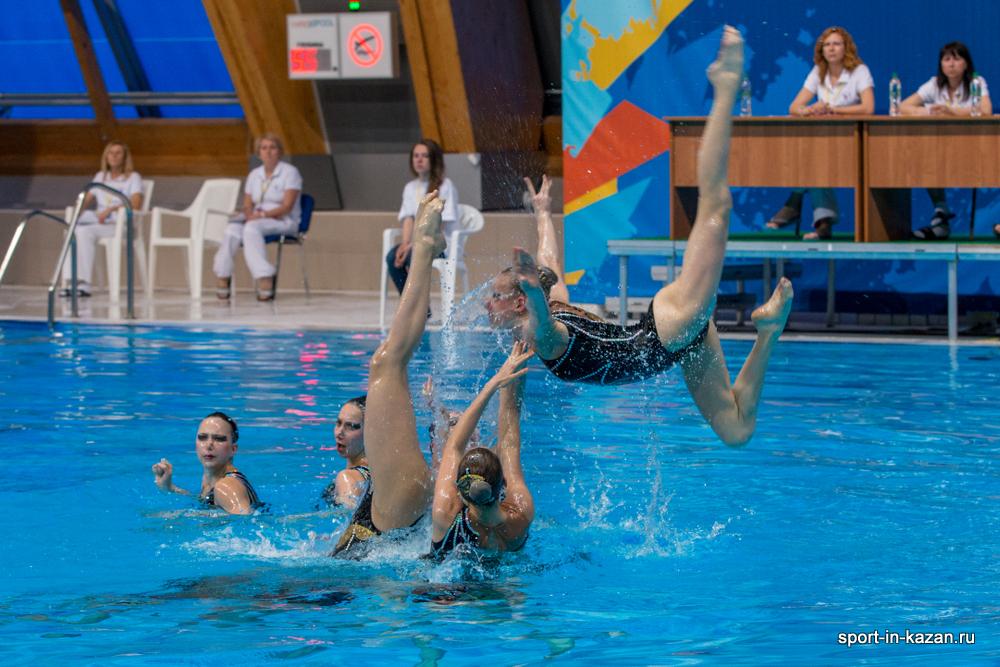 Фоторепортажи с Чемпионата России 2014 по синхронному плаванию