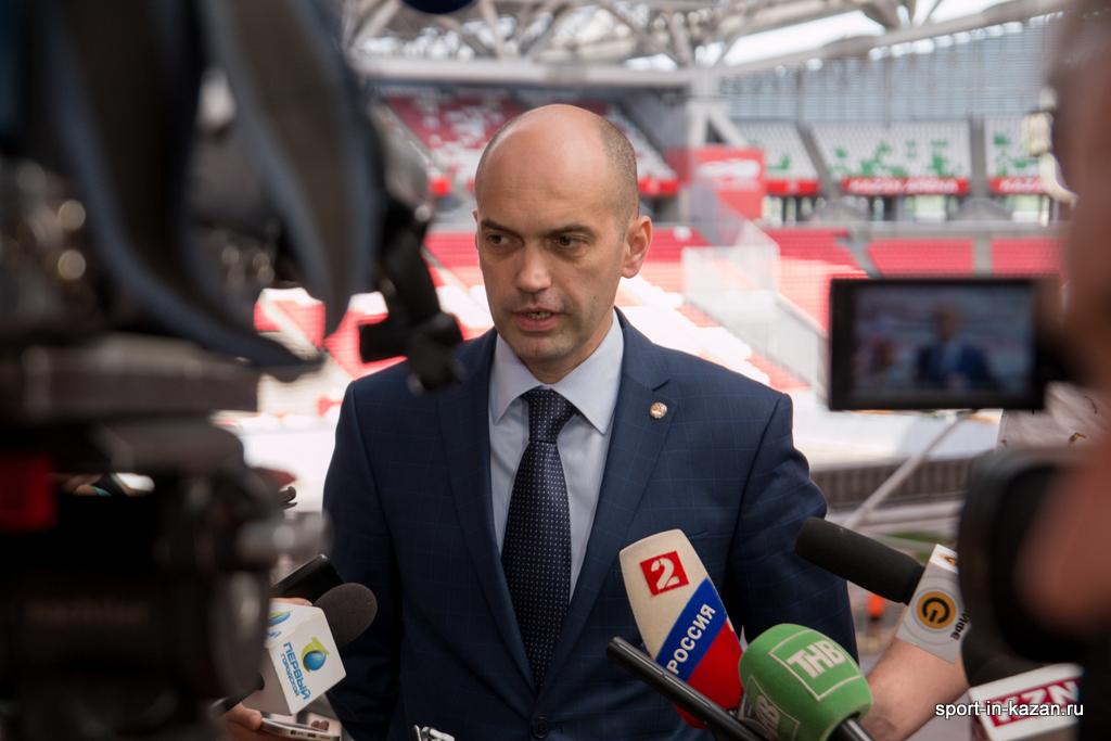Генеральный директор АНО «Исполнительная дирекция спортивных проектов» Азат Кадыров