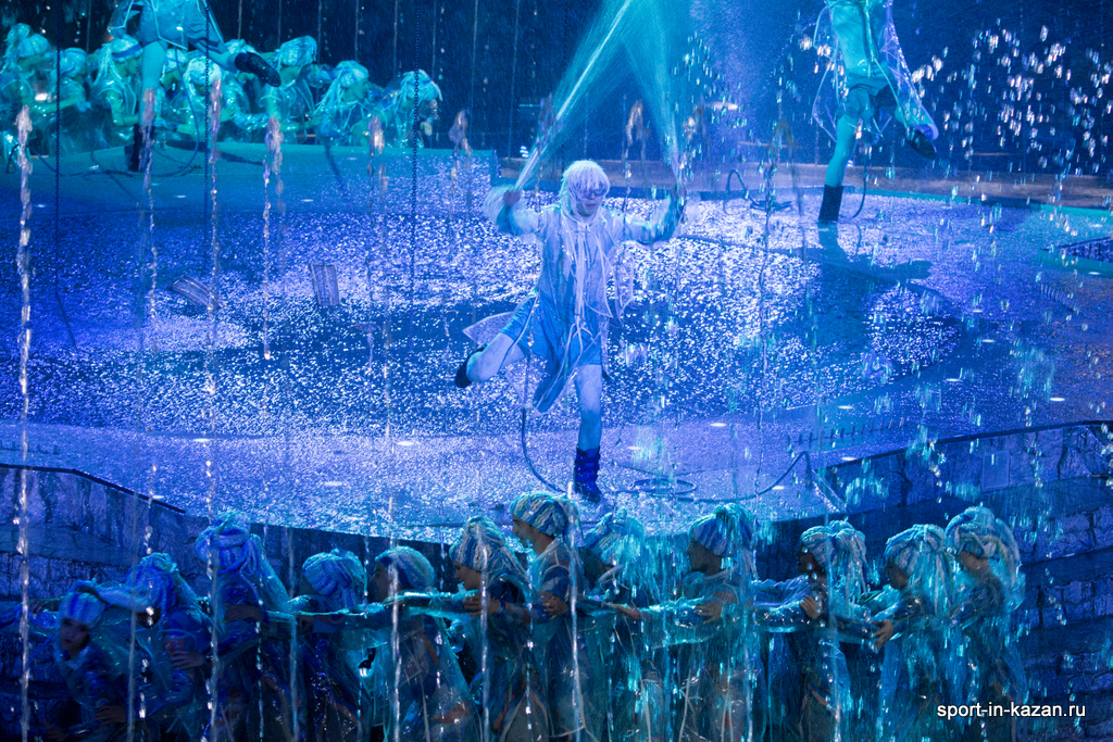 Танец с фонтанами