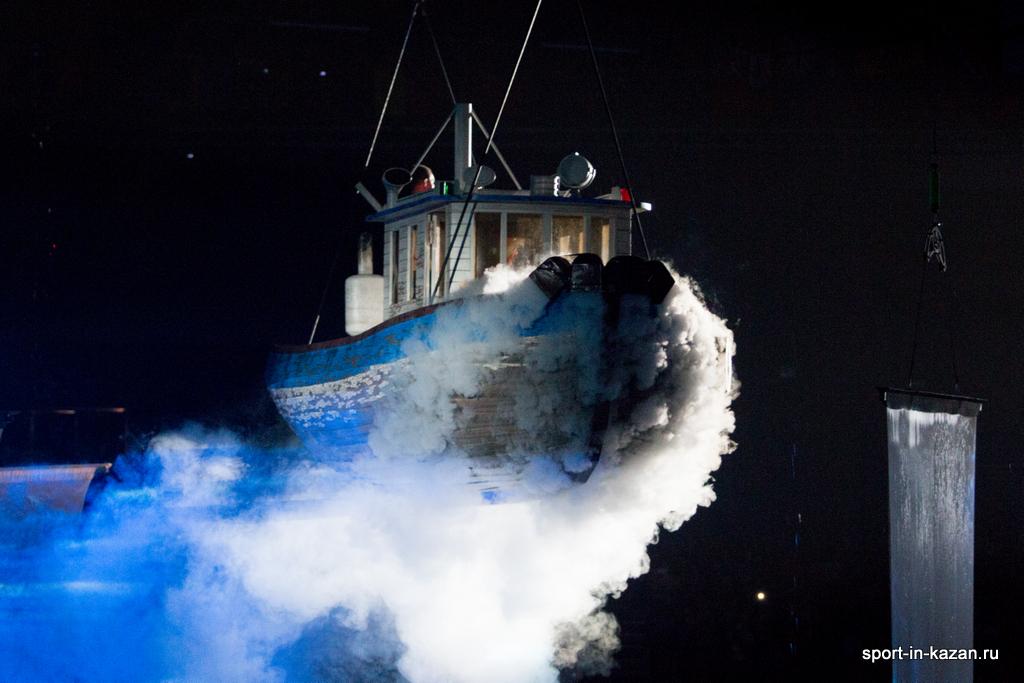 Корабль в воздухе