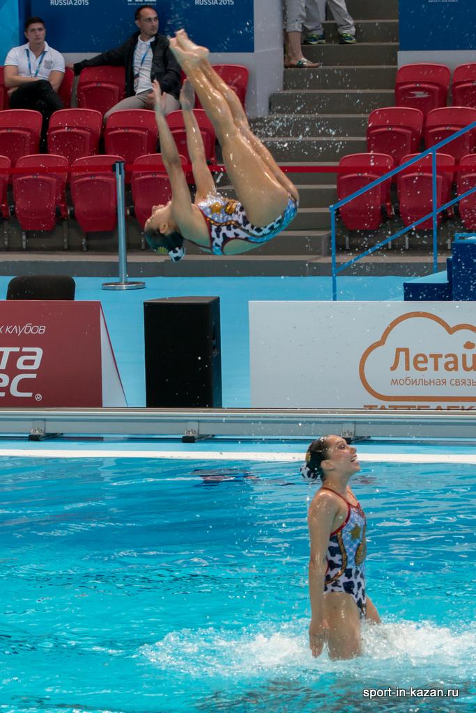Елена прокофьева фото синхронное плавание