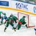 Соин забивает гол в ворота Галимова