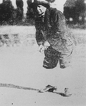 Джордж Лайон во время соревнований