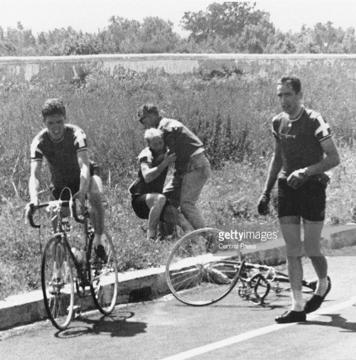 ОИ-1960 в Риме: Кнуд Йенсен потерял сознание во время гонки