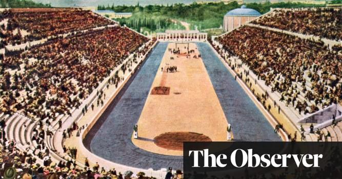 Открытие первых Олимпийских Игр в Афинах 1896