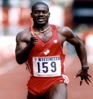 Выдающийся канадский спринтер Бен Джонсон