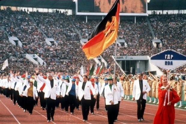 Допинг и Восточная Германия