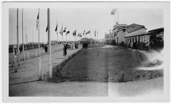 Первая Олимпийская деревня в Лос- Анджелесе в 1932 г