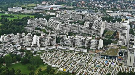 Олимпийская деревня в Мюнхене