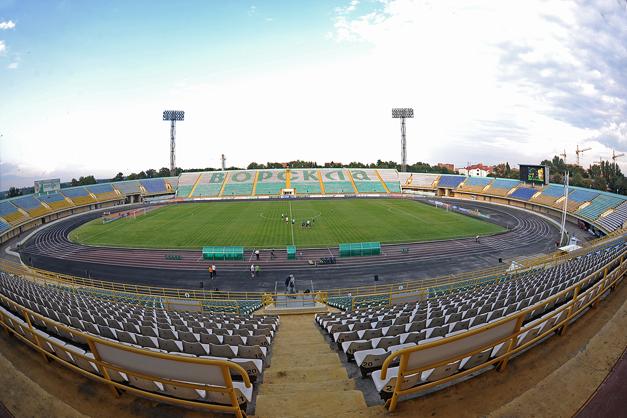 Стадион имени Алексея Бутовского «Ворскла» в Полтаве