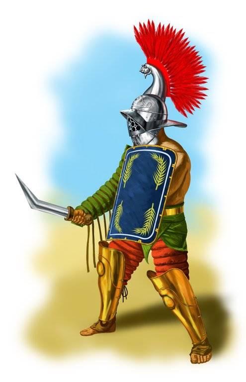 Фракийский гладиатор