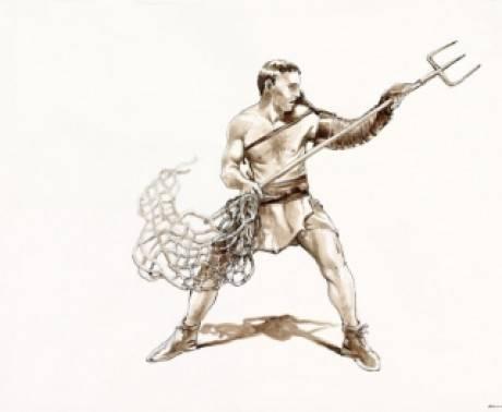 гладиатор Ретиарий