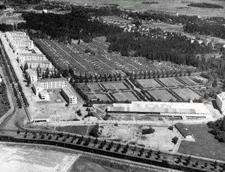 Олимпийская деревня в 1952. Хельсинки