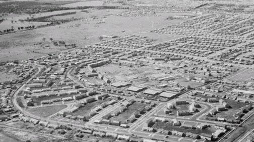 Олимпийская деревня в Мельбурне — 1956