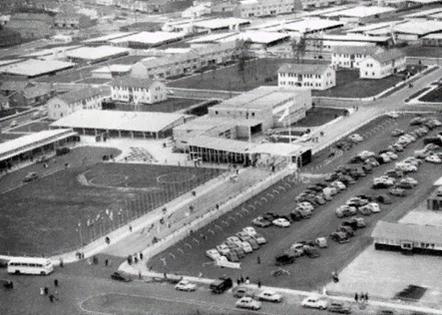 Олимпийская деревня в Риме — 1960