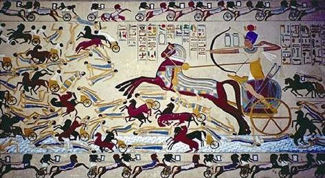 Изобретение легкой и быстрой боевой колесницы во II тыс. до н.э.